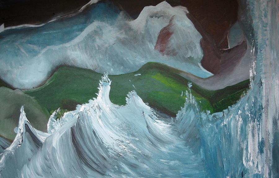 My Delicious Ocean Painting