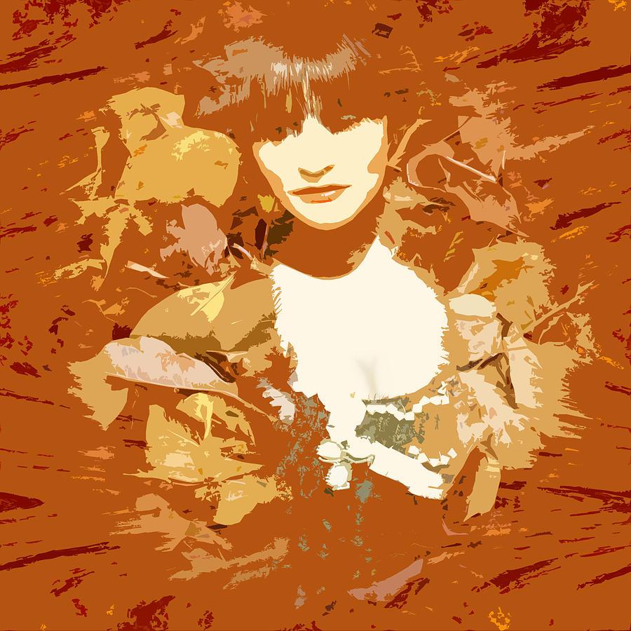 Digital Art Digital Art - My Lady Of The Wood by James Granberry
