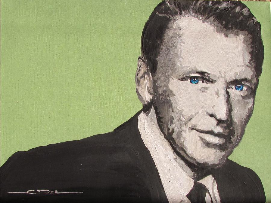 Frank Sinatra Painting - My Way - Frank Sinatra by Eric Dee