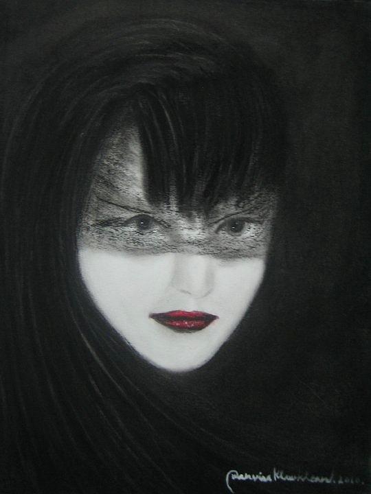 Mystery Woman Painting - mystery-woman-wanvisa-klawklean