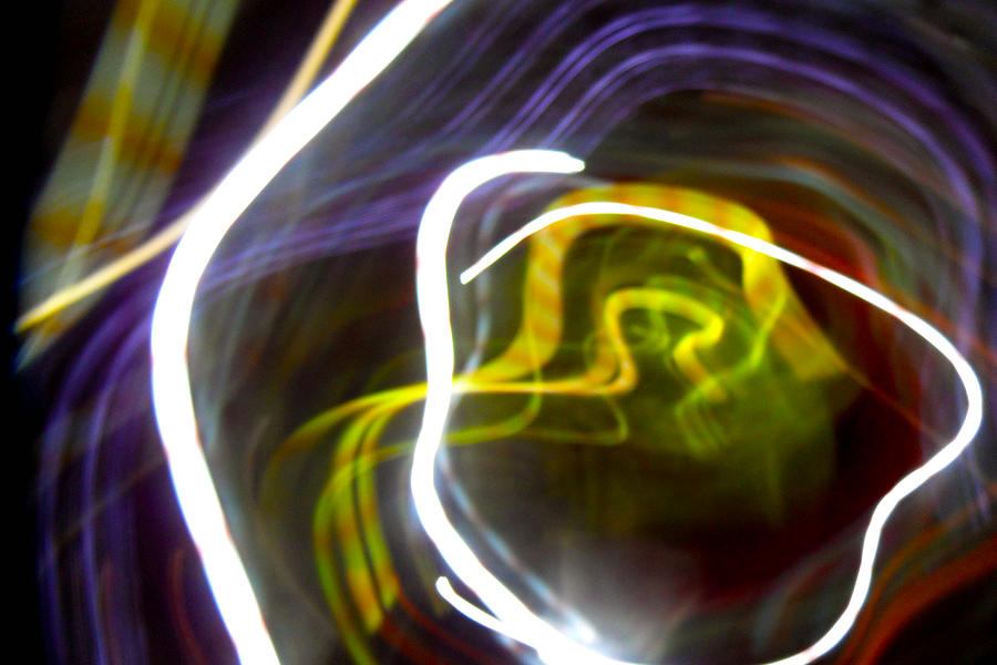 Abstract Photographs Photographs Photograph - Mystic Rose by Ilan and Oxana Aelion