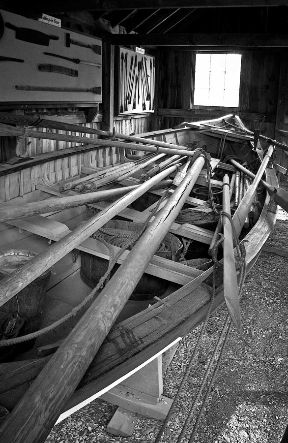 Mystic Seaport Whaling Boat Photograph