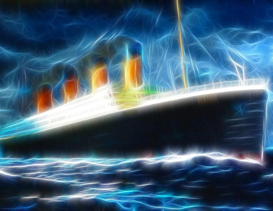 Mystical Titanic Painting