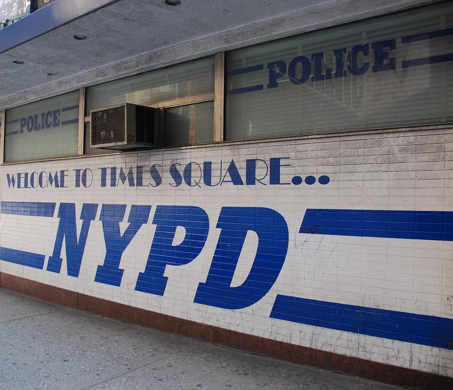 Nypd Photograph - N Y P D Blue by Rob Hans