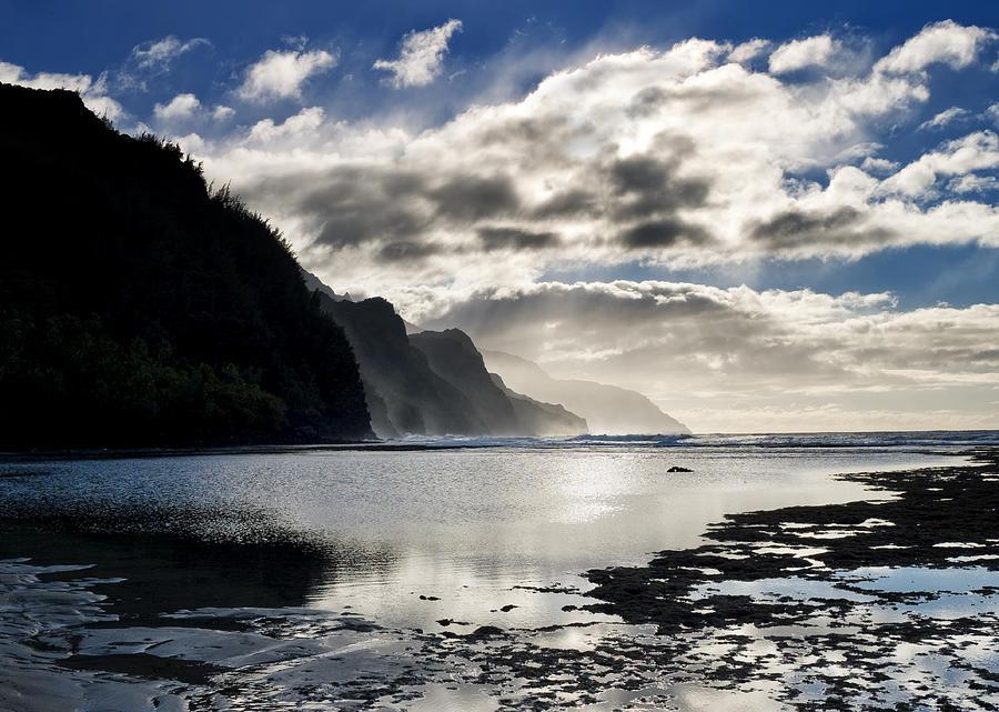 Na Pali Coast Photograph - Na Pali Coast Kauai Hawaii by Brendan Reals