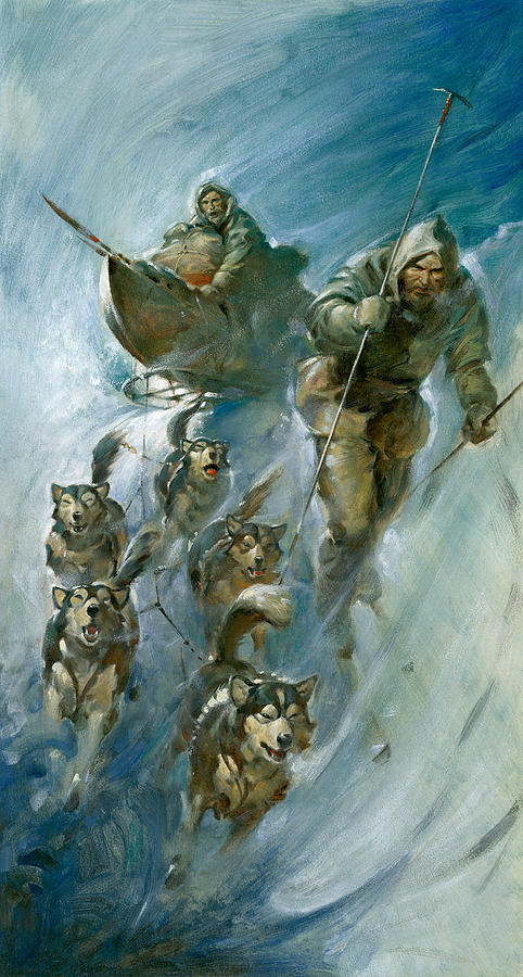 Nansen Conqueror Of The Arctic Ice Painting
