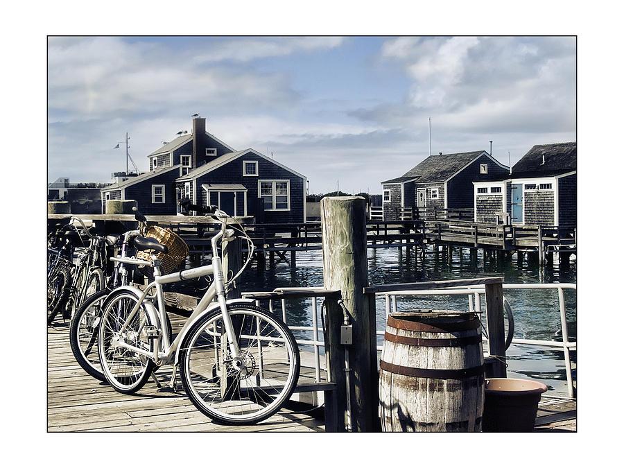 Nantucket Photograph - Nantucket Bikes 1 by Tammy Wetzel
