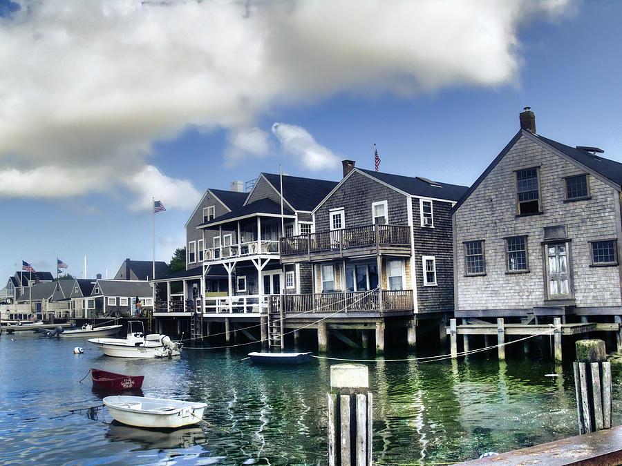 Nantucket Photograph - Nantucket Harbor In Summer by Tammy Wetzel