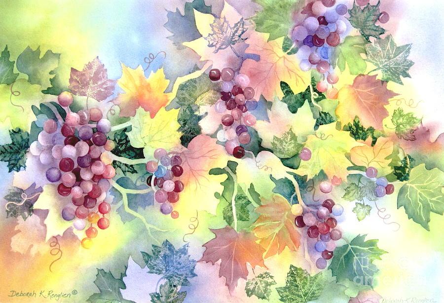 Napa Valley Painting - Napa Valley Morning 2 by Deborah Ronglien