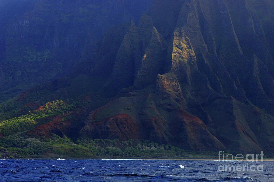 Hawaii Photograph - Napali Coast 2 by Bob Christopher