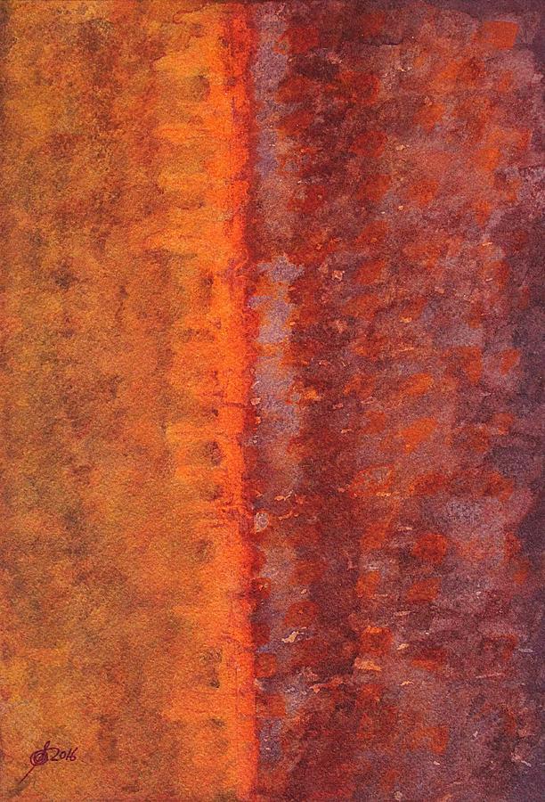 Narrow Divide Original Painting Painting