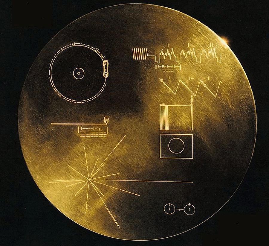 Nasas Voyager 1 And 2 Spacecraft Photograph