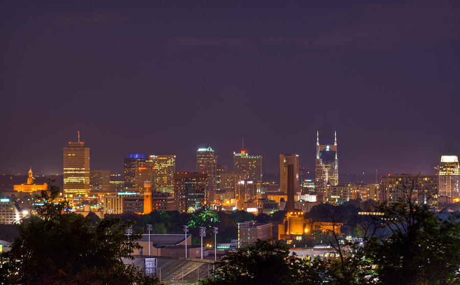 Nashville By Night 3 Photograph