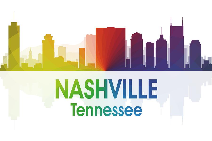 Nashville Mixed Media - Nashville Tn by Angelina Vick