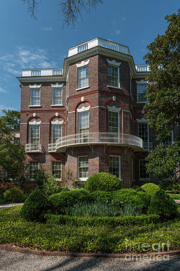 Nathaniel Russell House In Charleston Sc Photograph