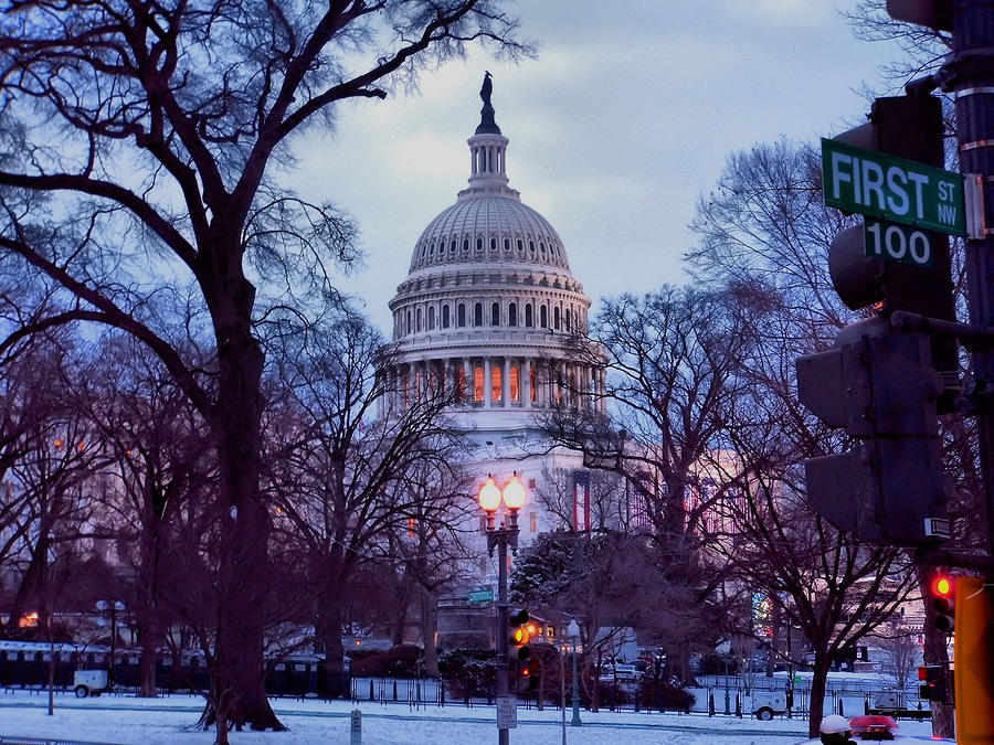 Washington D.c. Photograph - Nations Capitol by Jimmy Ostgard