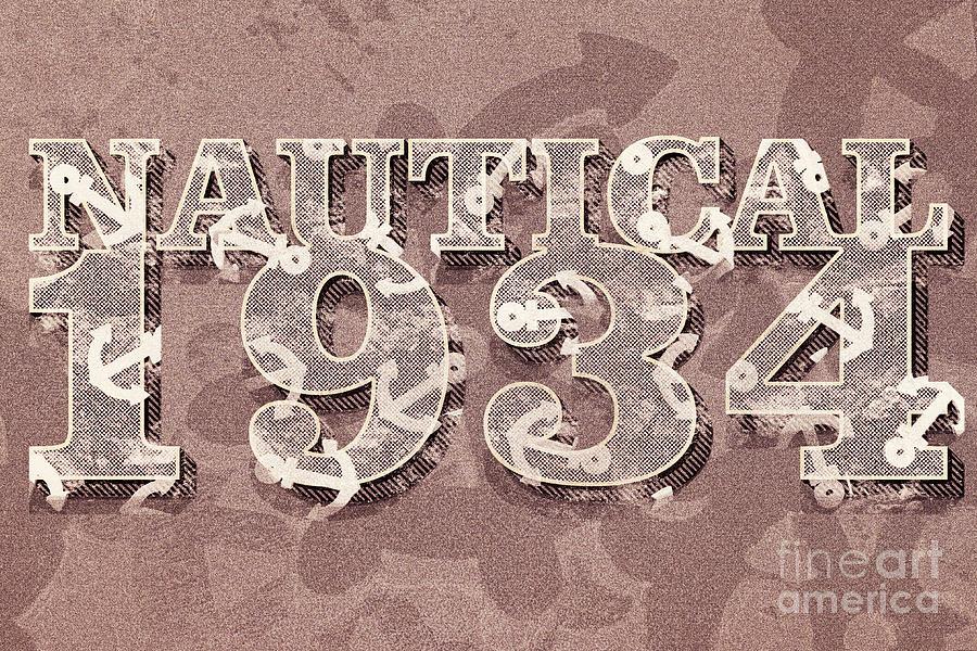 Nautical 1934 Digital Art