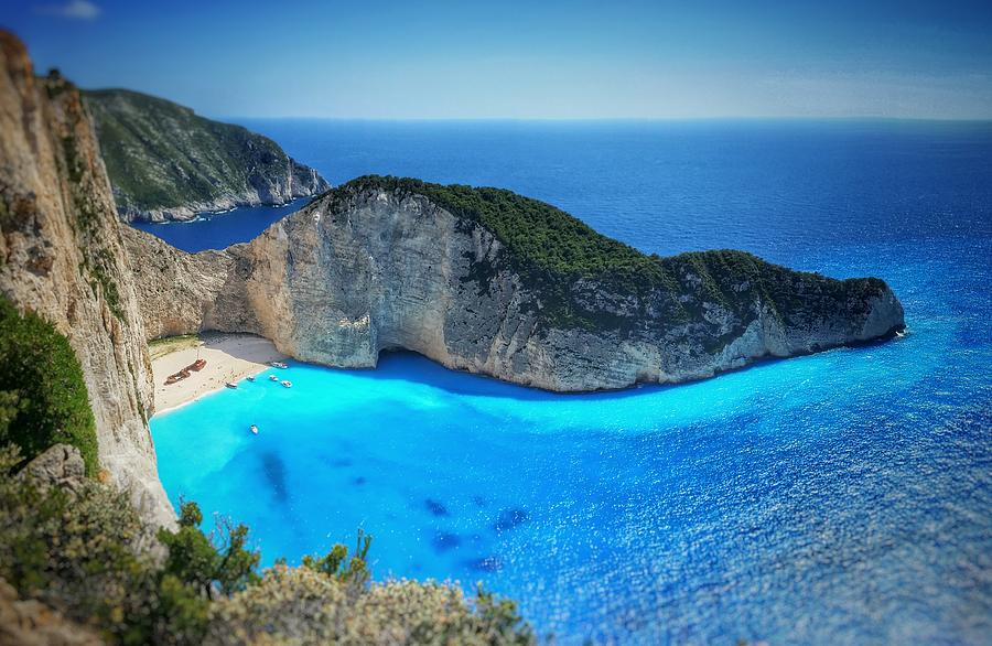 Navagio Beach Shipwreck Cove Photograph By Zakynthos