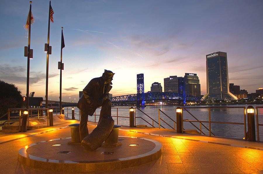 Navy Memorial Photograph