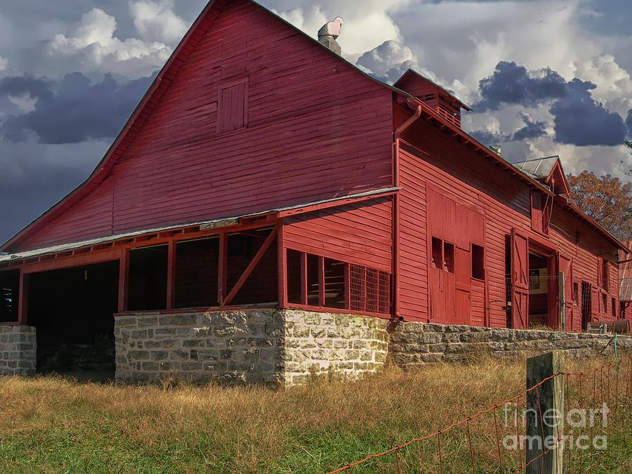 Nc Red Barn Photograph