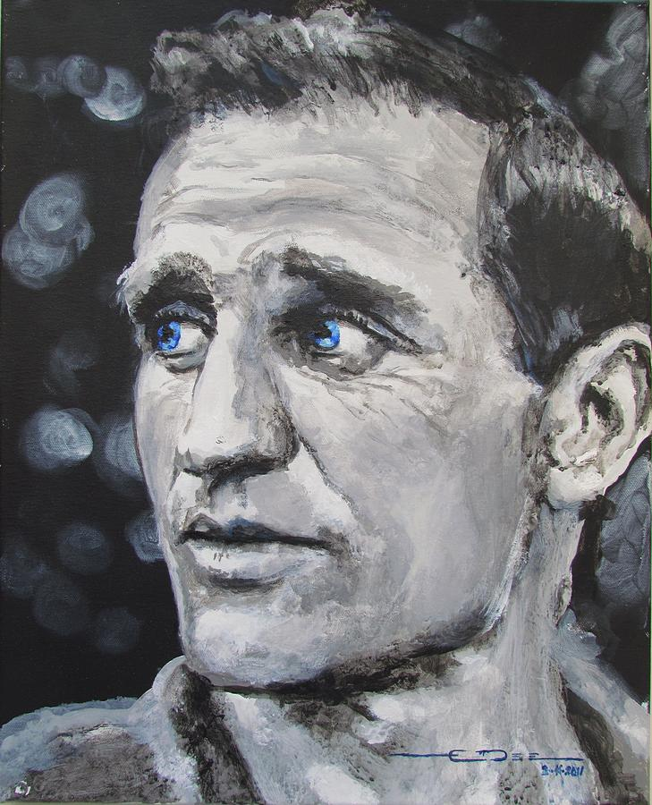 Neal Leon Cassady = Denver Colorado - Painting - Neal Cassady - On The Road by Eric Dee