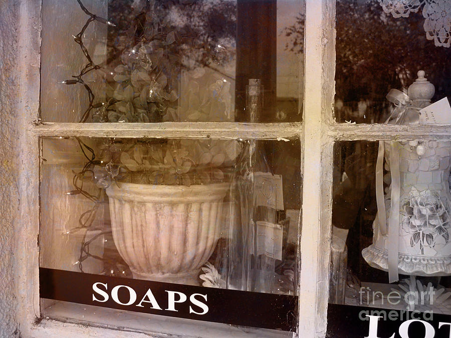 Retro Photograph - Need Soaps by Susanne Van Hulst