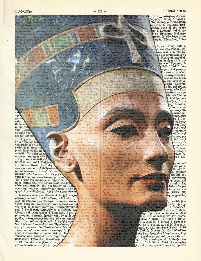 Nefertiti - Eternal Beauty Digital Art by Helena Kay