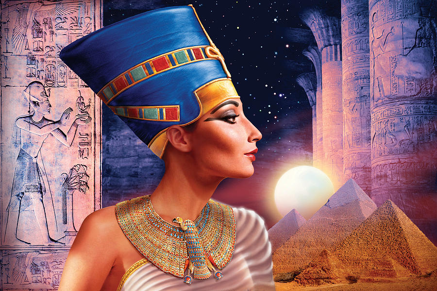 Adult Photograph - Nefertiti Variant 5 by Andrew Farley