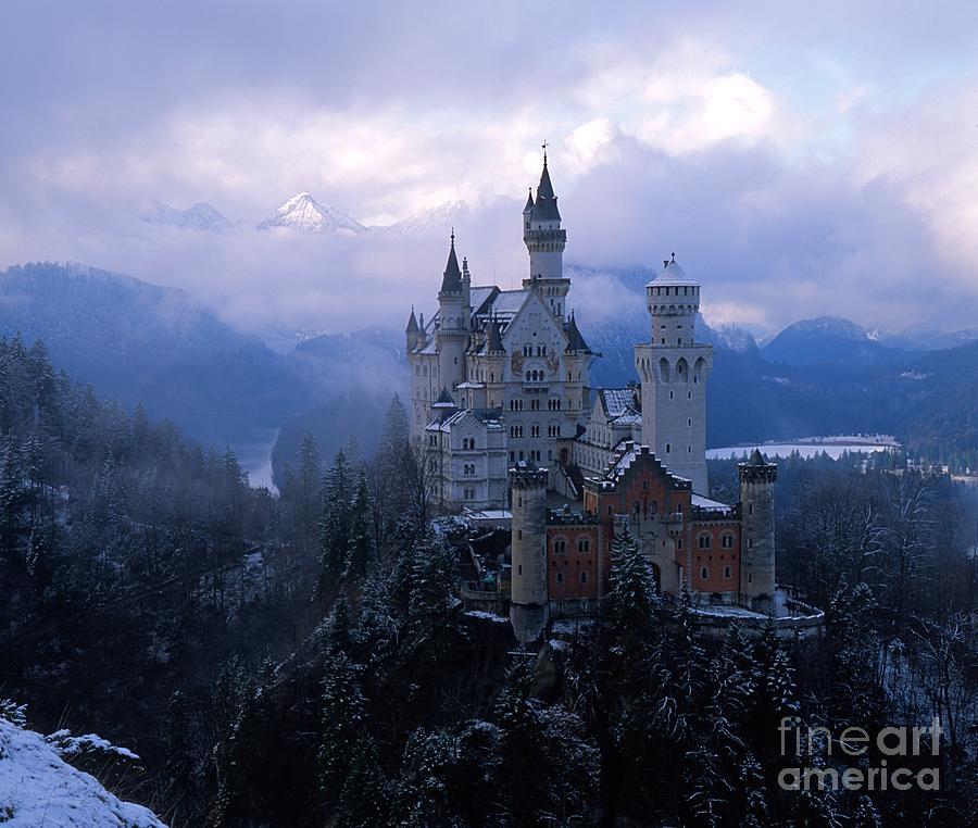 Castle Photographs Photograph - Neuschwanstein by Don Ellis