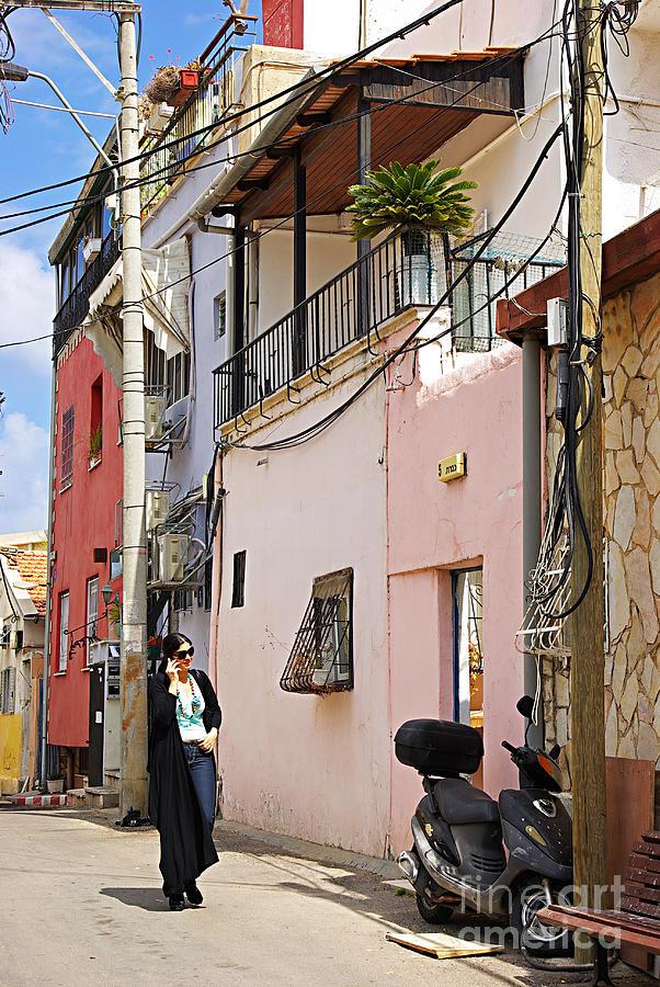 Neve Tzedek Photograph - Neve Tzedek Neighborhood In Tel Aviv by Zalman Latzkovich