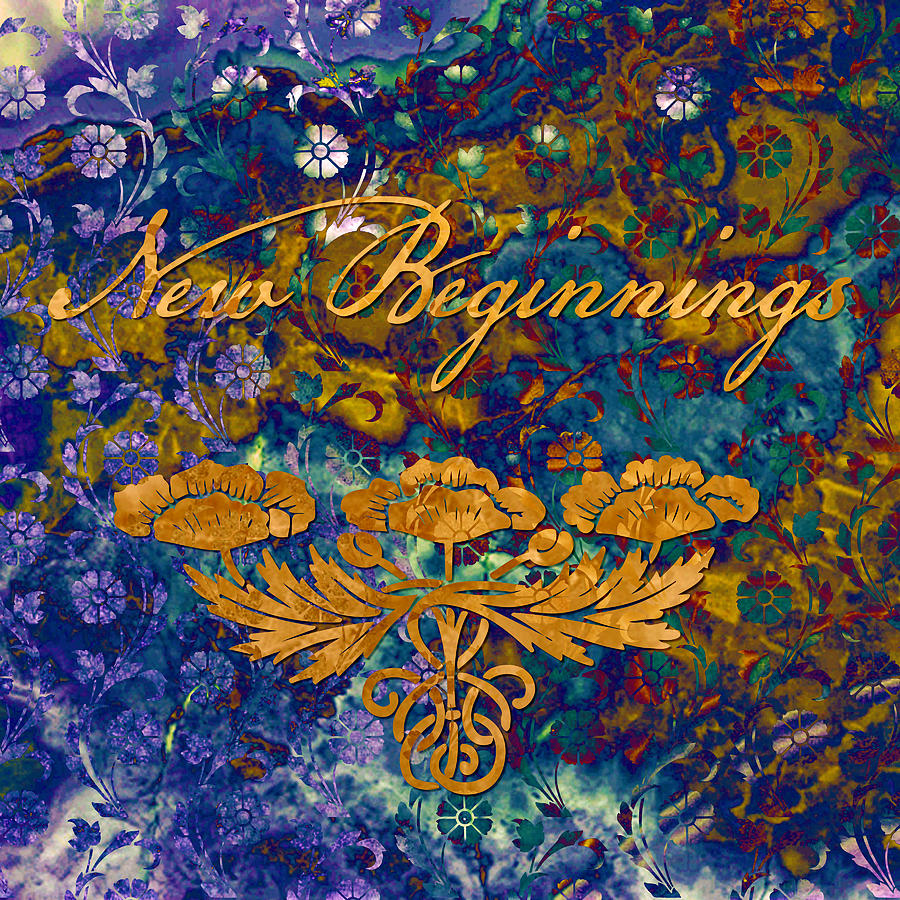 Beginning Digital Art - New Beginnings by Susan Ragsdale