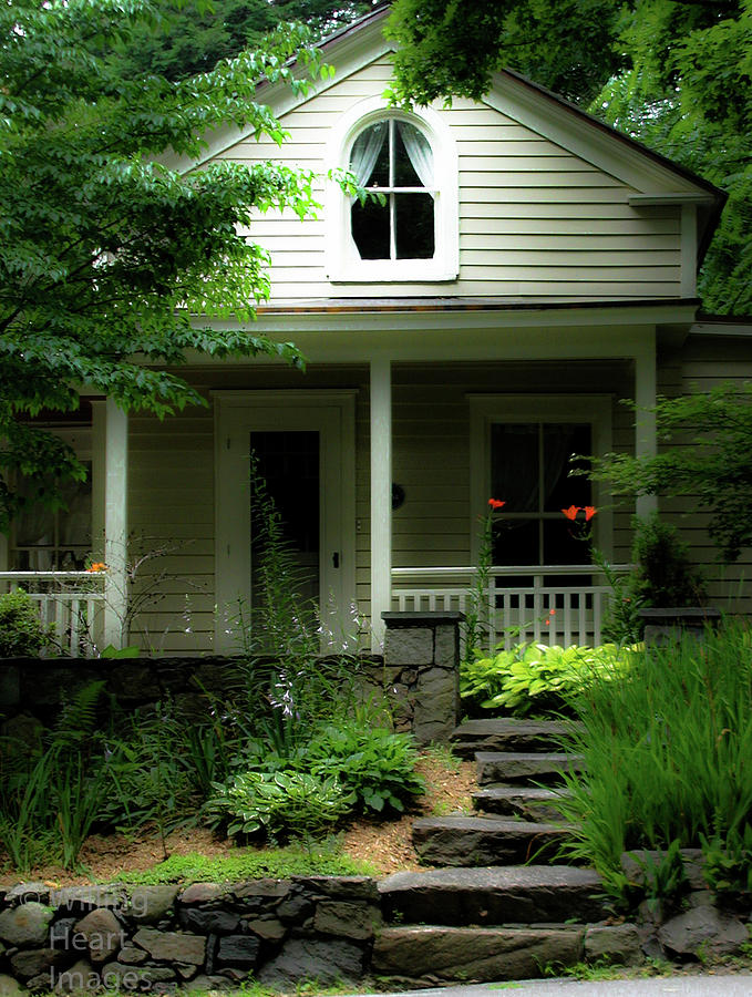 New England Cottage Photograph By Donna Fonseca Newton