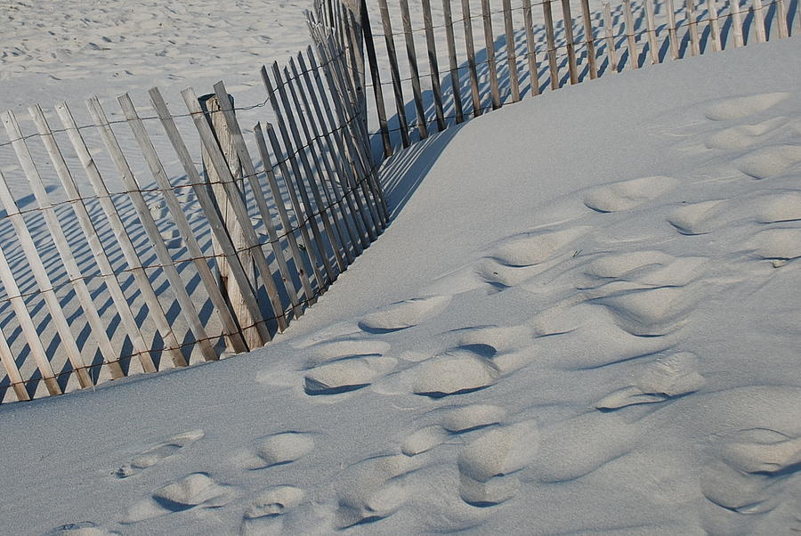New England Photograph - New England Footprints by Gene Sizemore