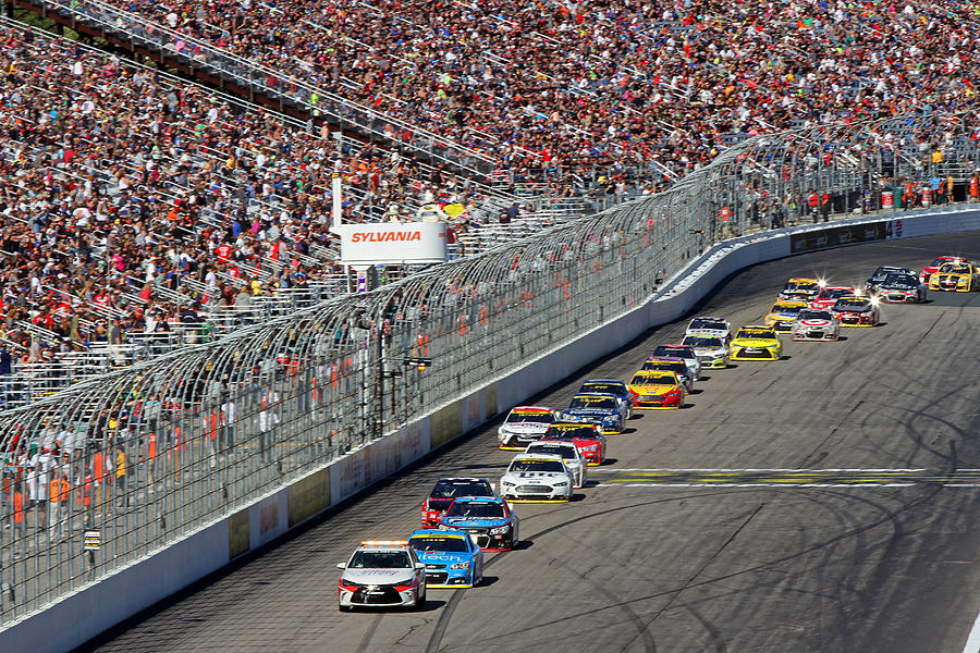 New Hampshire Motor Speedway Pace Car Photograph By