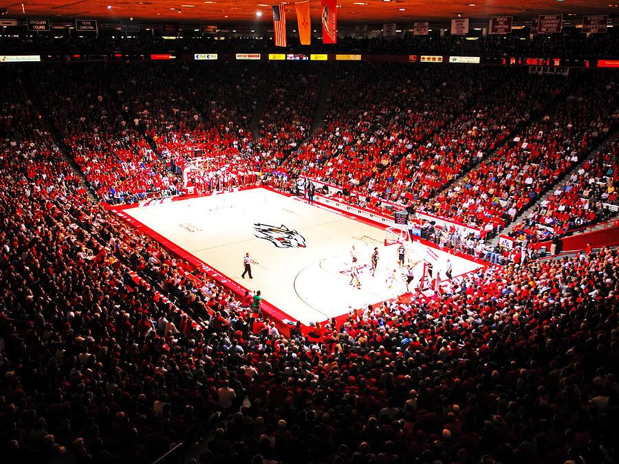 Albuquerque Photograph - New Mexico Lobos University Arena by Replay Photos