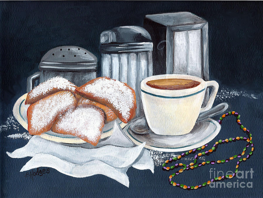 New Orleans Painting - New Orleans Favorites by Elaine Hodges