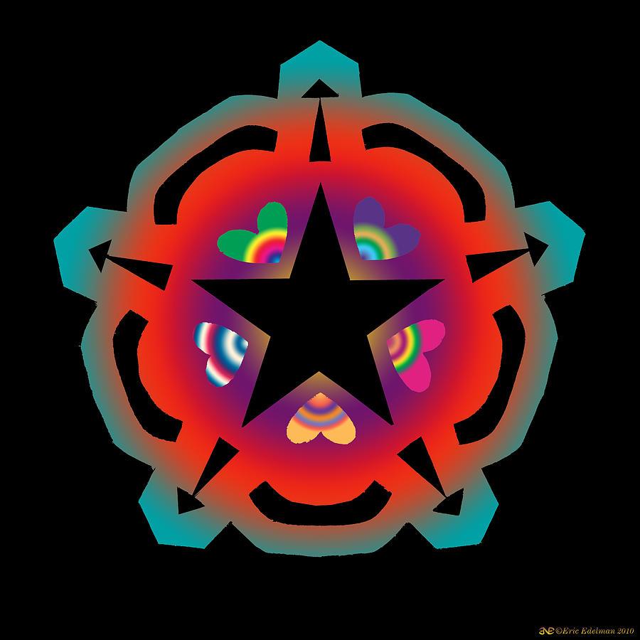 New Star 6 Digital Art
