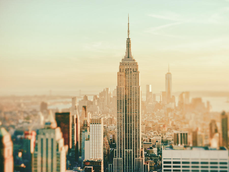 Nyc Photograph - New York City - Skyline Dream by Vivienne Gucwa