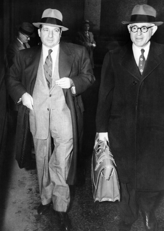 History Photograph - New York Organized Crime Boss, Frank by Everett