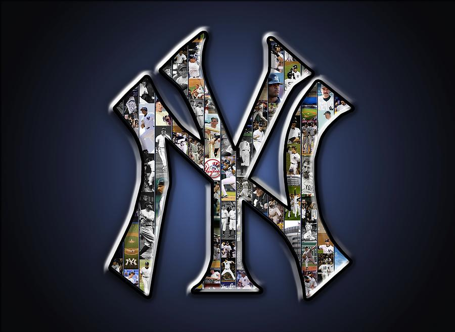New York Yankees Photograph By Fairchild Art Studio