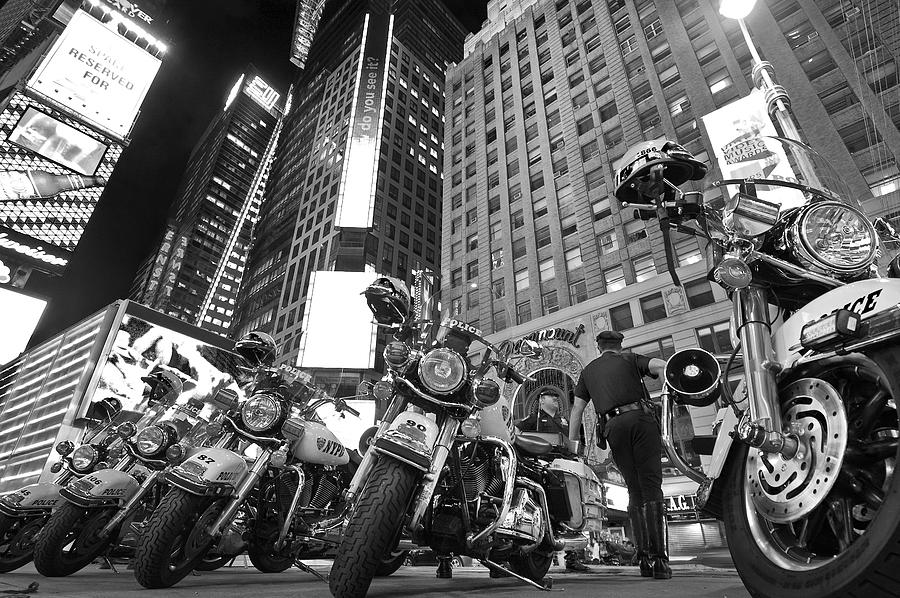 Nypd Photograph - New Yorks Finest by Robert Lacy