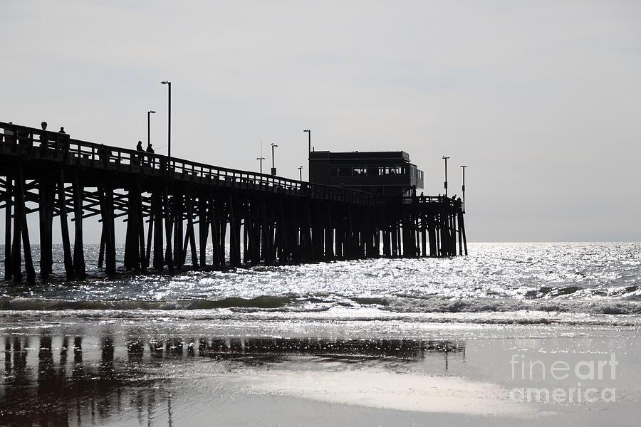 Balboa Peninsula Photograph - Newport Pier by Paul Velgos