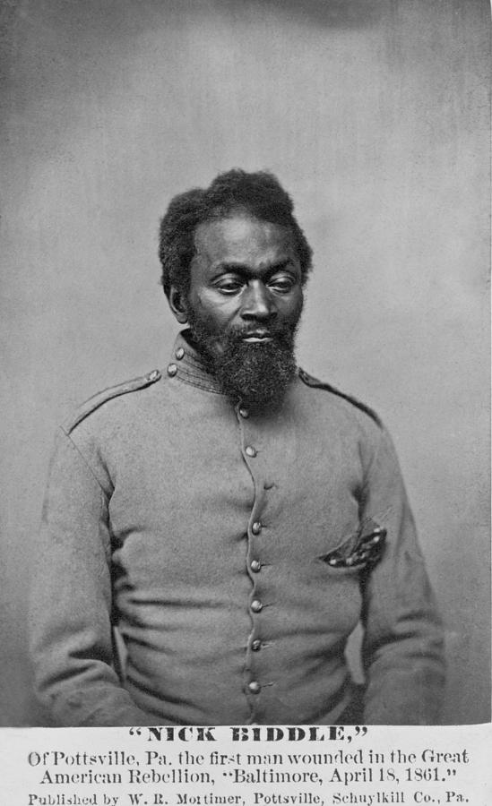 History Photograph - Nicholas Biddle, An African American by Everett