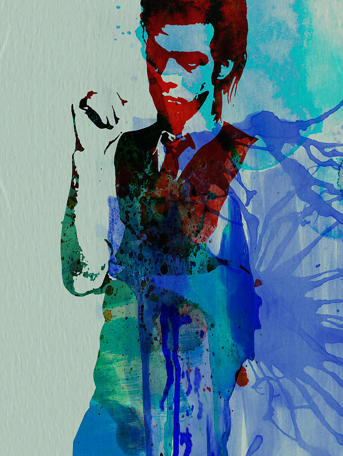 Nick Cave Painting - Nick Cave by Naxart Studio
