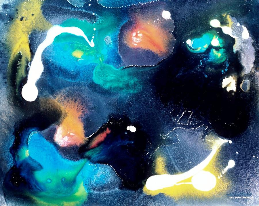 Spiritual Painting - Night Of The Angels by Lee Pantas