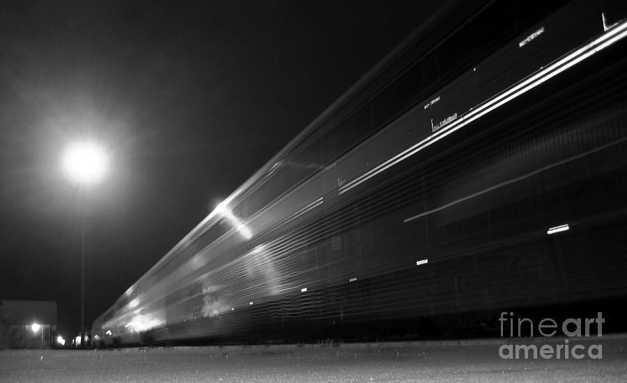 Night Train Photograph