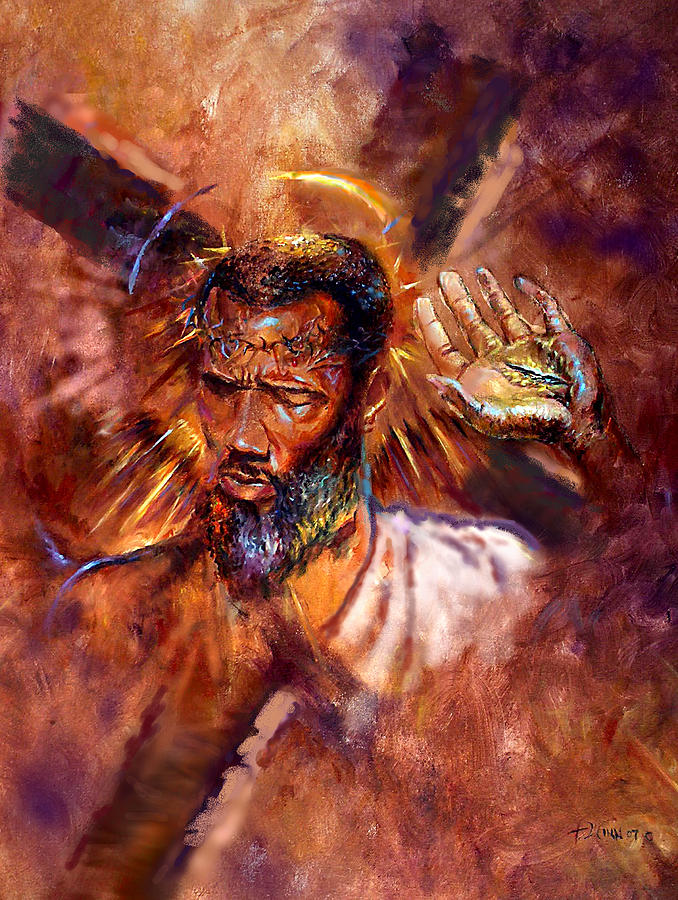 Religious Painting - No Excuses by Tommy  Winn