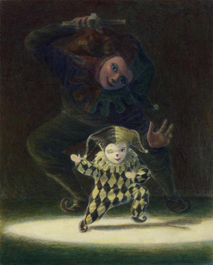 Leonard Filgate Painting - No Strings Attached by Leonard Filgate