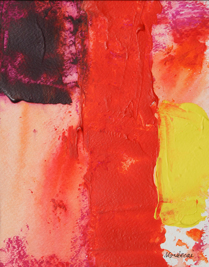 Abstract Painting - No.17 by Mordecai Colodner