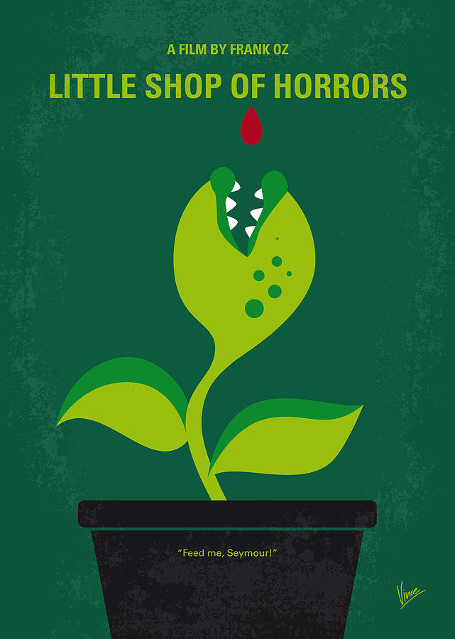 No611 My Little Shop Of Horrors Minimal Movie Poster ...